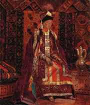 A Kazakh bride