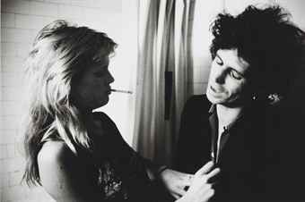 Patti Hansen and Keith Richards, 1981