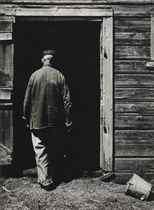 Uncle Harry Entering Barn, 1947