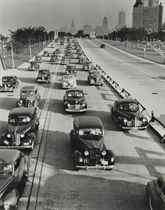 Chicago, Lake Shore Drive, looking South from North Ave., 1941
