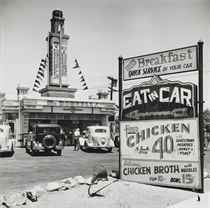 Early Drive-in, Hollywood, 1935