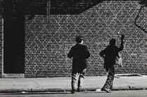 Handball Players, Brooklyn, 1946; and Rivington Street, N.Y.C., 1947