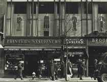 Sixth Avenue near 45th Street, New York, March 1948