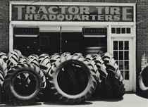 Tire Store, Vernon, Texas, 1949