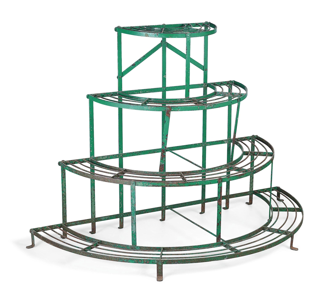 An English Wrought Iron Plant Stand 20th Century