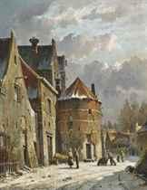 Adrianus Eversen (Dutch, 1818-1897)