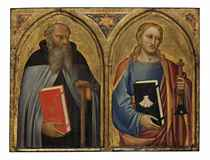 Saint Anthony Abbot and Saint James the Greater