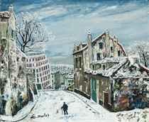 La Maison de Mimi Pinson sous la neige