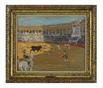 Bull fight in Seville