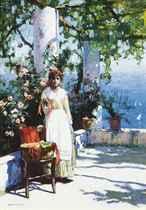 A Capri coral girl