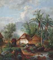 Desa in de omstreken van de hoofdplaats Malang