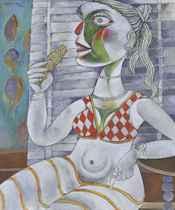 Woman Eating Bhutta