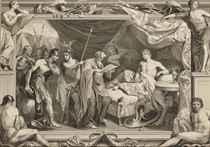 Alexandre recevant la visite du docteur Philippe