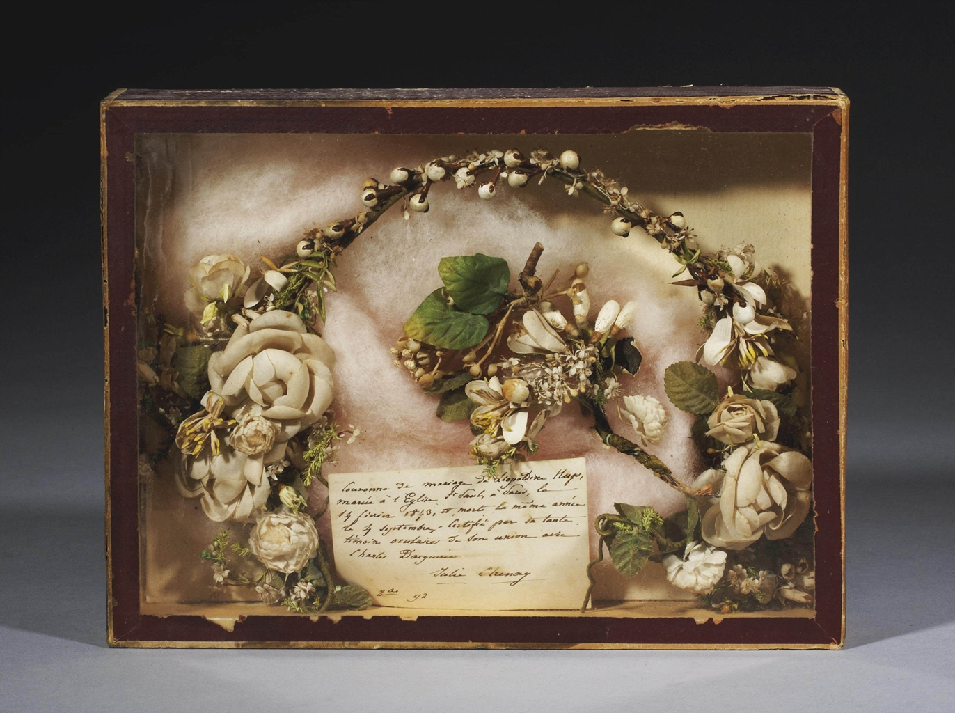 couronne de mariee de leopoldine hugo 1843 old master. Black Bedroom Furniture Sets. Home Design Ideas