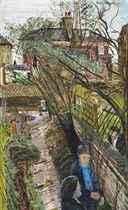 The Broken Trellis, The Artist's Garden, Battersea