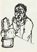 Sketchbook of 29 Man and Machine drawings