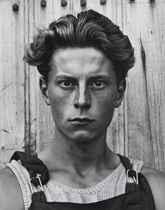 Young Boy, Gondeville, France, 1951