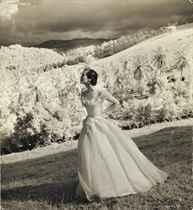 Fashion studies, Jamaica, 1948