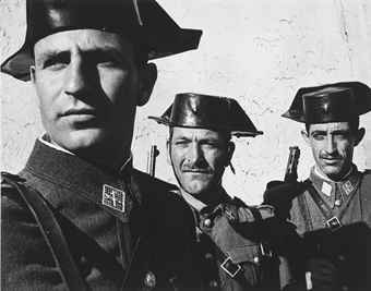 Guardia Civil, Spanish Village, 1951