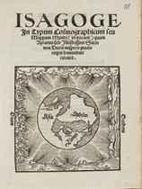 APIANUS, Petrus (1495-1552) Isagoge in Typum Cosmographicum