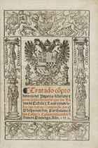 CASAS, Bartolomé de Las (1474-1566) Tratado Comprobatorio de