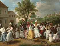 A Negroes Dance in the Island of Dominica