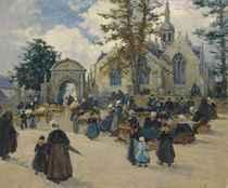 Après la messe en Bretagne