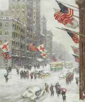 Fifth Avenue in Wartime