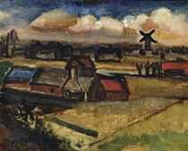 Paysage au Moulin-à-Vent