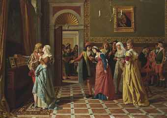 the merchant of venice portia saves Bassanio approaches his friend antonio, a wealthy merchant of venice who has   leave for venice, with money from portia, to save antonio's life by offering the.