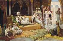 A dance in the harem