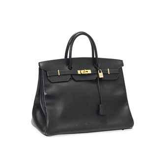 A BLACK LEATHER \u0026#39;BIRKIN\u0026#39; BAG   HERM��S, 1993   20th Century, bags ...