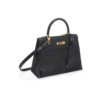 A BLACK LIZARD \u0026#39;KELLY\u0026#39; BAG | HERM¨¨S, 1998 | 21st Century, bags ...
