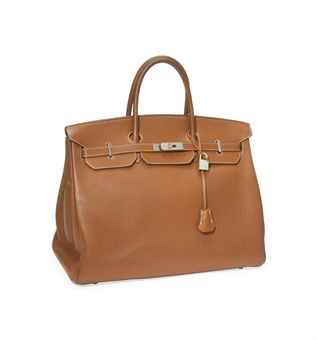 brown birkin bag