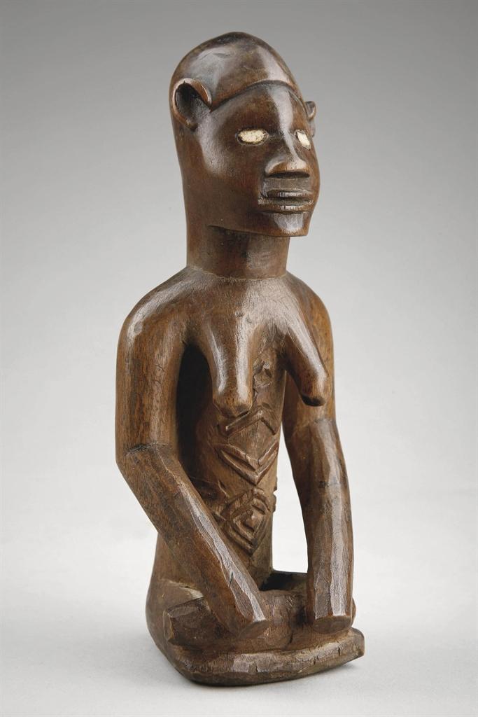 statuette bembe bembe figure r publique d mocratique du congo african oceanic art auction. Black Bedroom Furniture Sets. Home Design Ideas