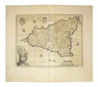 BLAEU, Johannes (1596-1673). Geographiae Blavianae Volumen Octavum, quo Italia, quae est Europae liber XVI continentur [Italy]. Amsterdam: Johannes Blaeu, 1662.
