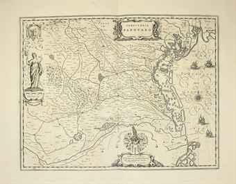 BLAEU, Johannes (1596-1673). Parte del Atlas Mayor, o Geographia Blaviana, que contiene las cartas y descripciones de Italia [volume VIII of Atlas Mayor]. Amsterdam: Juan Blaeu, 1669.