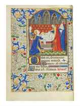 BOOK OF HOURS, use of Rome, in Latin, ILLUMINATED MANUSCRIPT