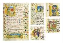 ANTIPHONAL OF ELISABETH VON GEMMINGEN, in Latin, ILLUMINATED