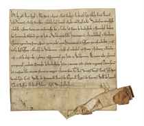 HENRY II (1133-1189), king of England Letters patent, Woodst