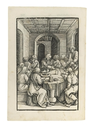pinder, ulrich (fl.1489-1509). <i>speculum passionis domini nostri ihesu christi.</i> nuremberg: [printer for the sodalitas celtica, ?f.peypus], 30 august 1507.