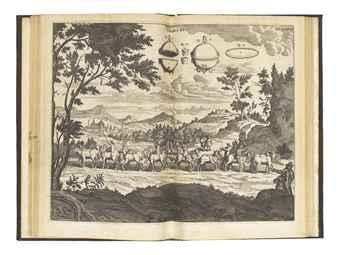 GUERICKE, Otto von (1602-1686). Experimenta nova (ut vocantur) Magdeburgica, de vacuo spatio, edited by Gaspar Schott. Amsterdam: Johannes Jansson Waesberge, 1672.