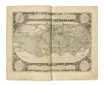ORTELIUS, Abraham (1527-1598). Theatrum orbis terrarum. Antwerp: Jan Baptist Vrients, 1603.
