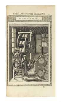 RAMELLI, Agostino (c.1531-c.1608). Le diverse et artificiose machine nellequali si contengono varij et industriosi movimenti. Paris: the author, 1588.