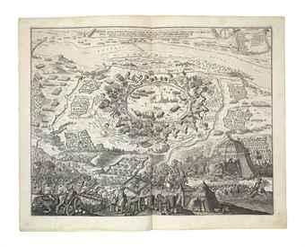 ROSSI, Giovanni Giacomo de. Teatro della Guerra contro il Turco. Rome: Giovanni Giacomo de Rossi, 1687 [but c. 1688].