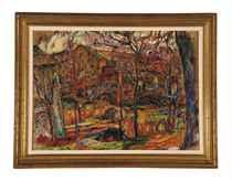 Landscape (recto); Untitled (verso)