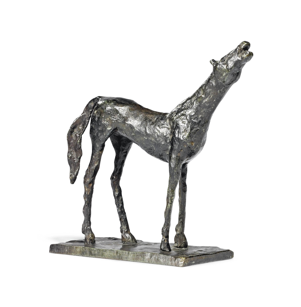 diego giacometti 19021985 cheval 224 la t234te haute