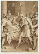 Design for an illustration for Jean-Jacques Barthélemy's Voyage du jeune Anacharsis en Grèce