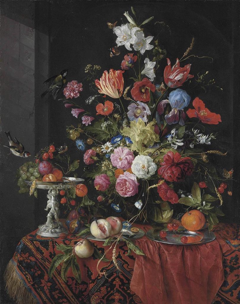Best Buy Private Auction >> Jan Davidsz. de Heem (Utrecht 1606-1684 Antwerp) | Flowers ...