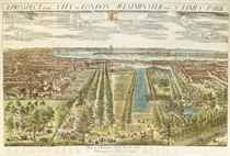 A Prospect of the City of London Westminster and St James's Park